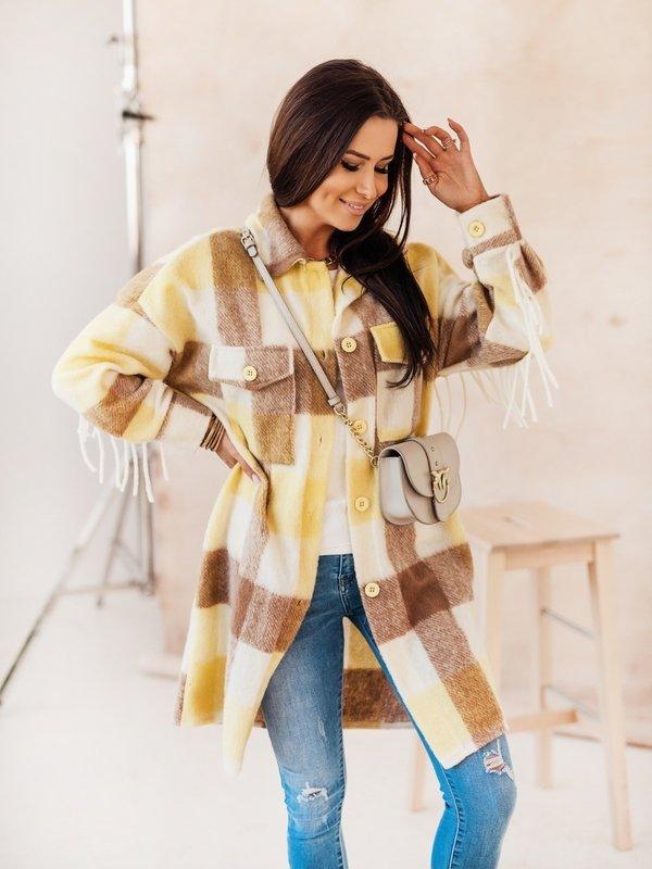 Kurtka Pocahontas Żółta