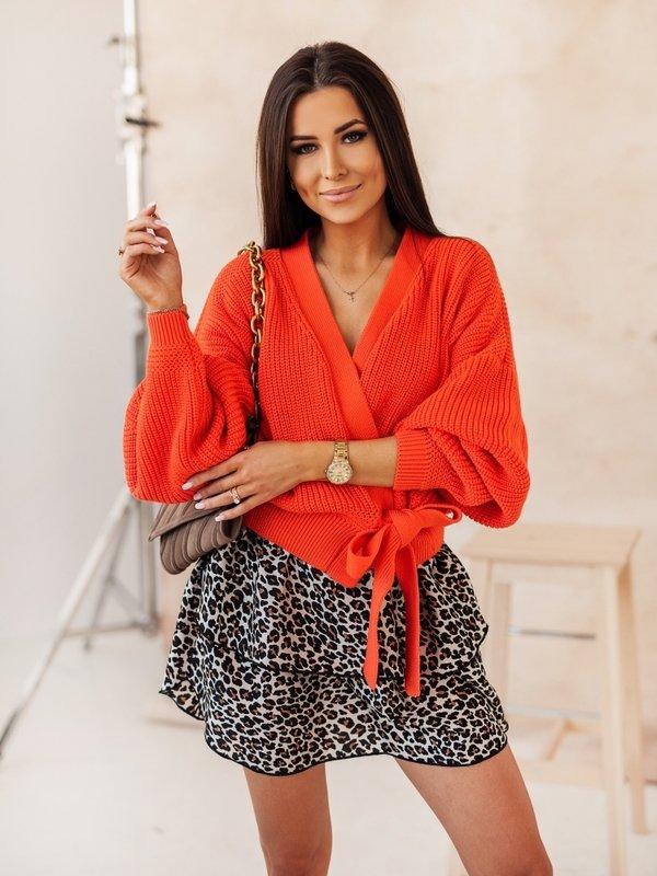 Sweter Rita Pomarańczowy