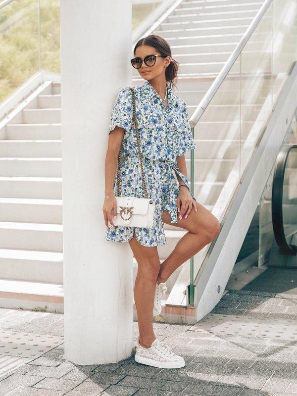 Sukienka Mailo Niebieska