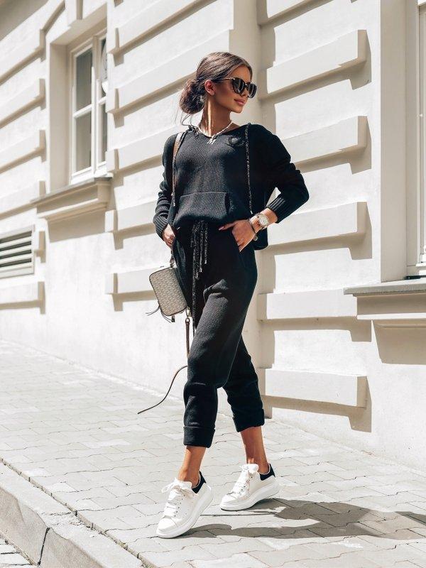 Spodnie Anabella Czarne