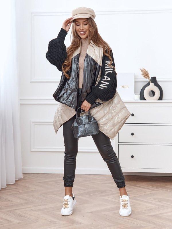 Kurtka Milano Style Beżowa