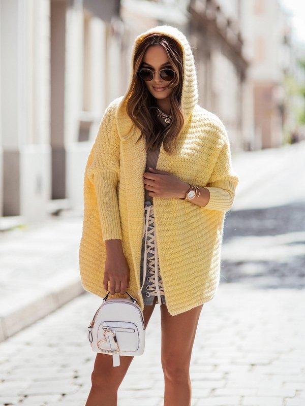 Sweter Symbio Żółty