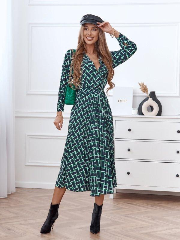 Sukienka Catrina Zielona