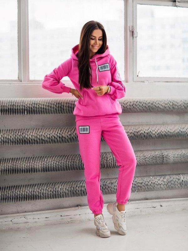 Spodnie Coco Label Różowe
