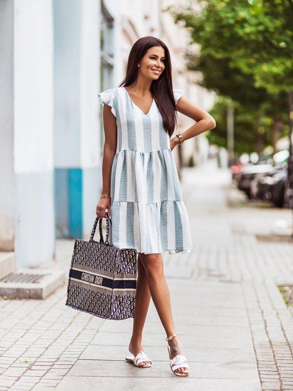 Sukienka Holiday Błękitna