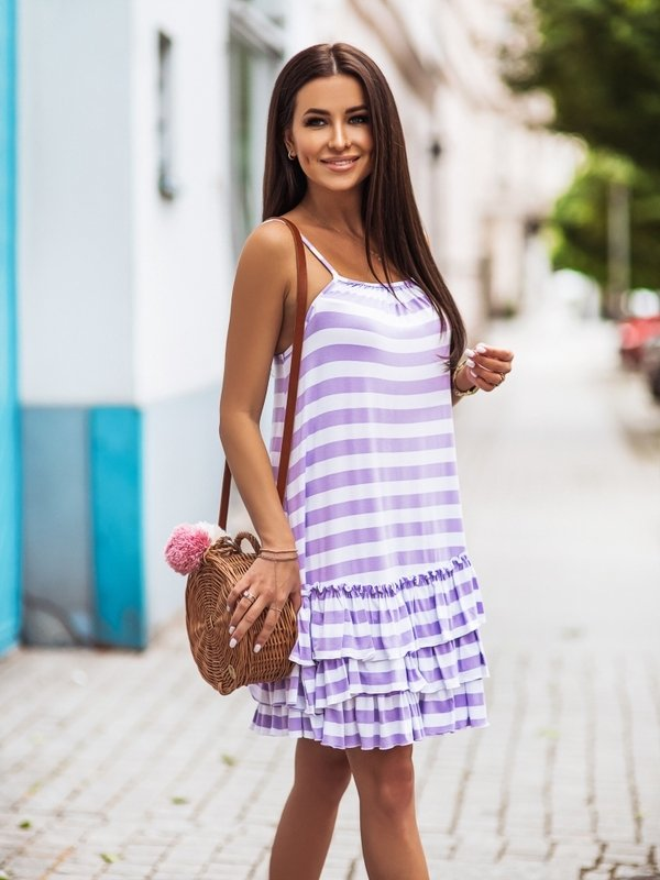 Sukienka Daphne Fioletowa