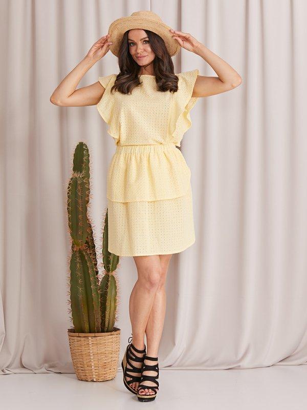 Spódnica Malibu Żółta