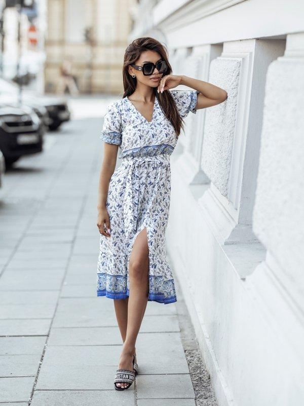 Sukienka Jumbo Niebieska