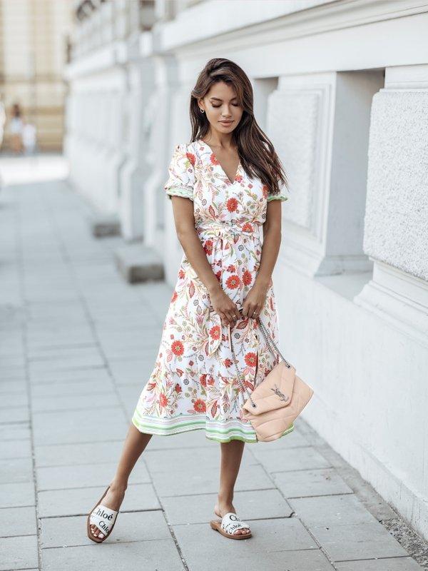 Sukienka Marino Pomarańczowa