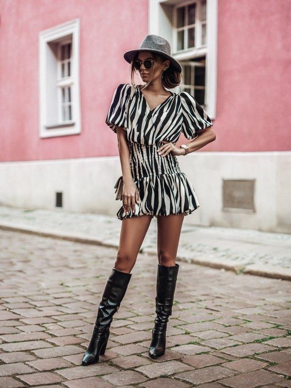 Sukienka Sofio Czarna