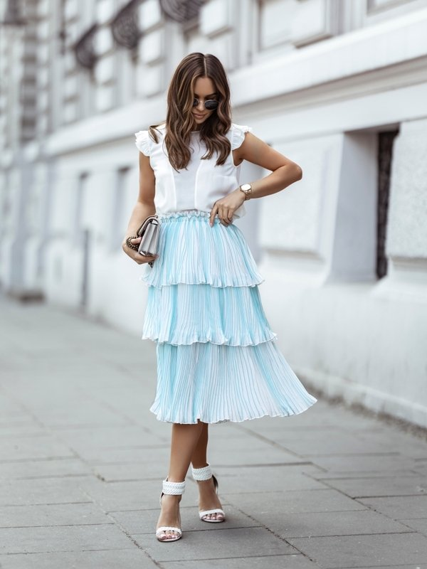 Spódnica Mayla Błękitna