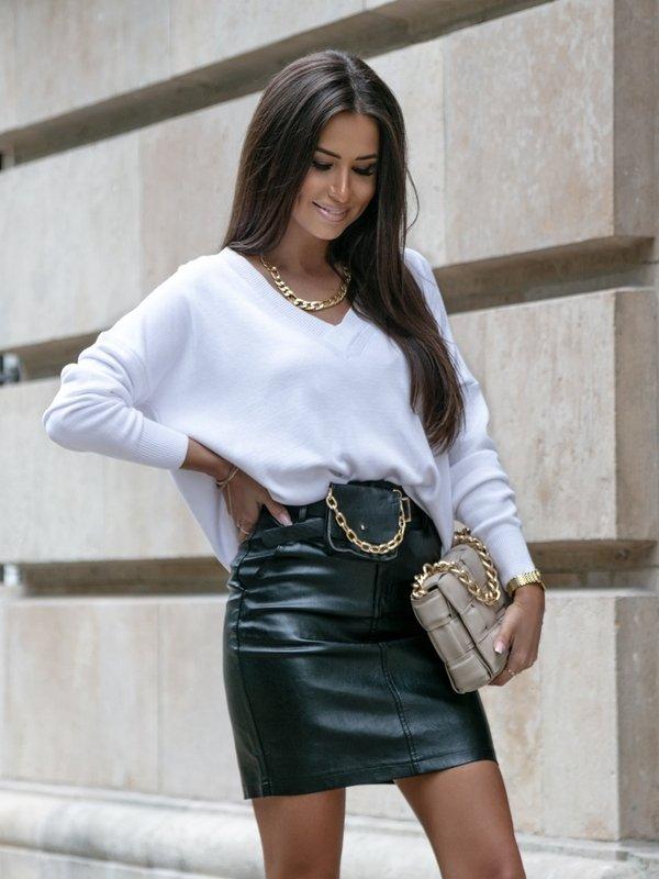 Sweter Classico Biały