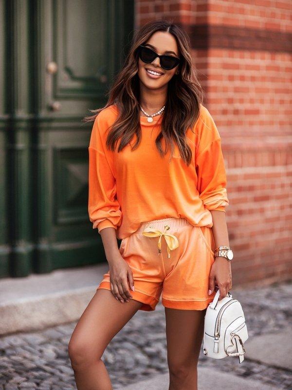Bluza Cleo CC New Pomarańczowa