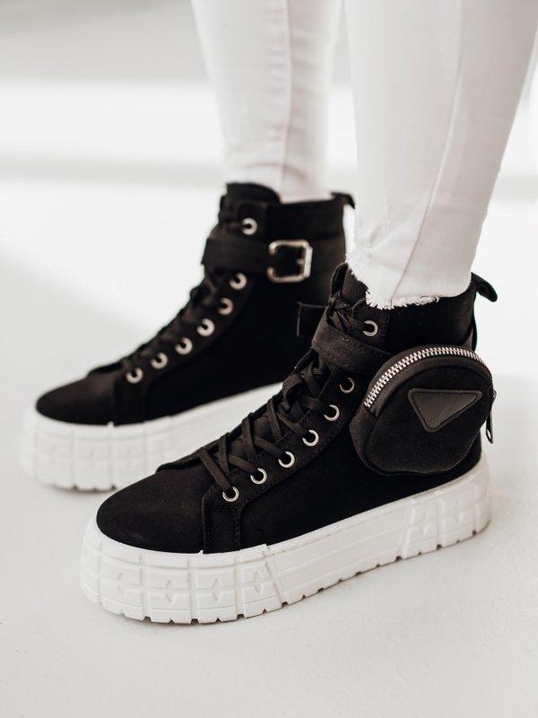 Sneakersy Sissi Czarne