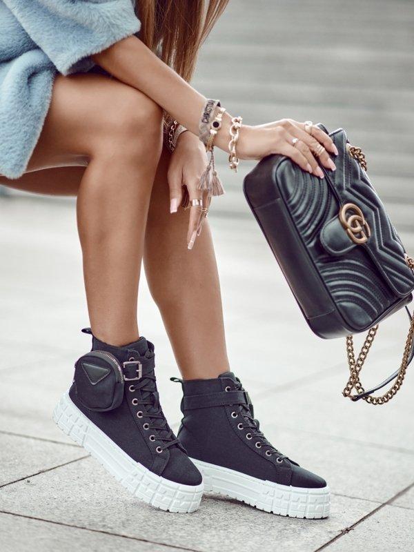 Sneakersy Nerrisa Czarne