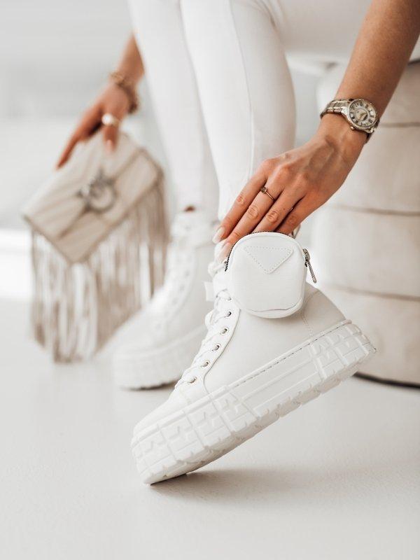 Sneakersy Sissi Białe