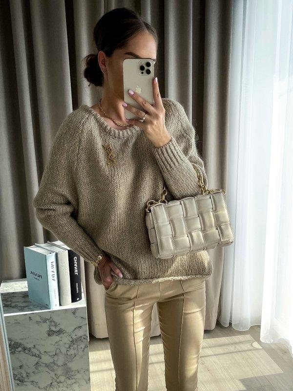 Sweter Dakota Miodowy