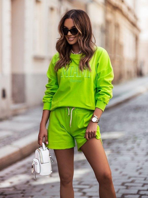 Bluza Miami Limonkowa