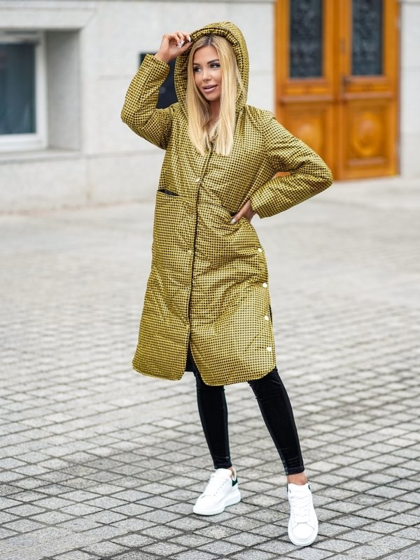 Kurtka Horizon Tweed Żółta