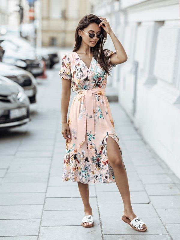 Sukienka Azriel Pomarańczowa