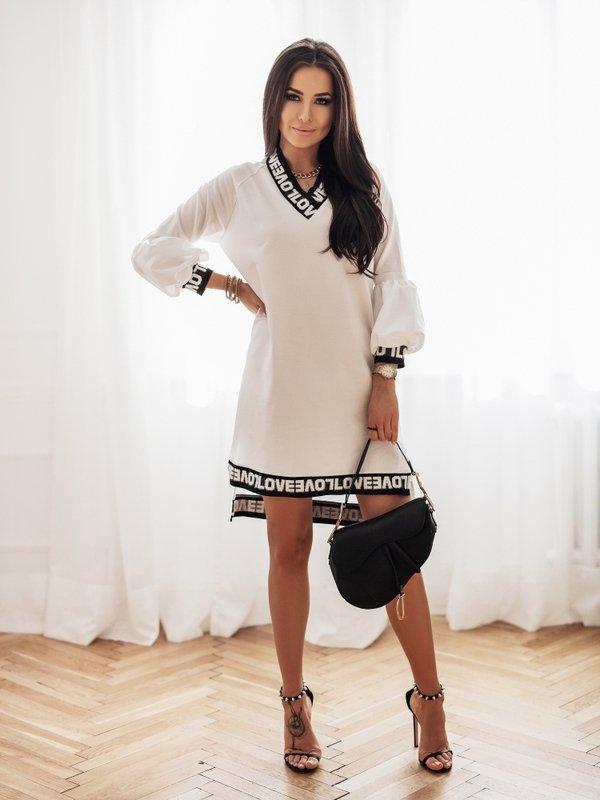 Sukienka Lovely Biała