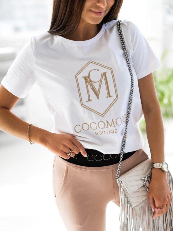 T-shirt CM Coco Biały