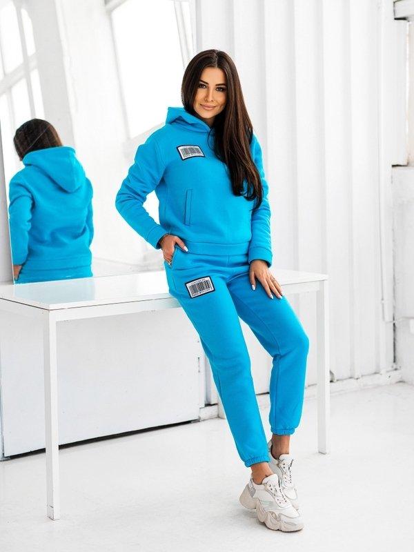 Spodnie Coco Label Turkusowe