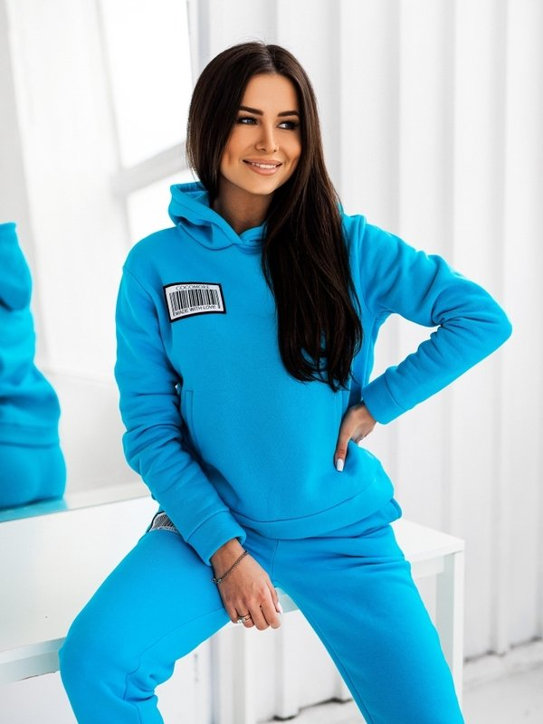 Bluza Coco Label Turkusowa